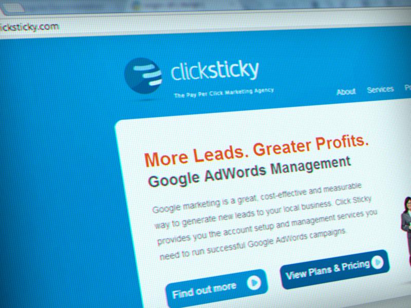 clicksticky_printscreen_mockup_portfolio